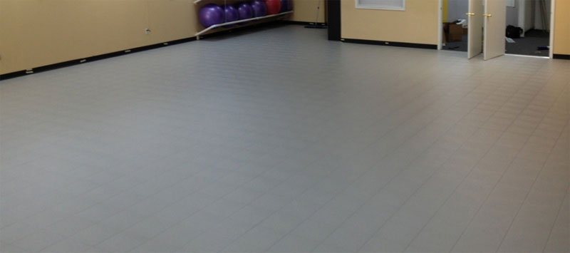 dance aerobic floor tile
