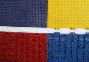 Shock  Absorbent Cushioned Tiles